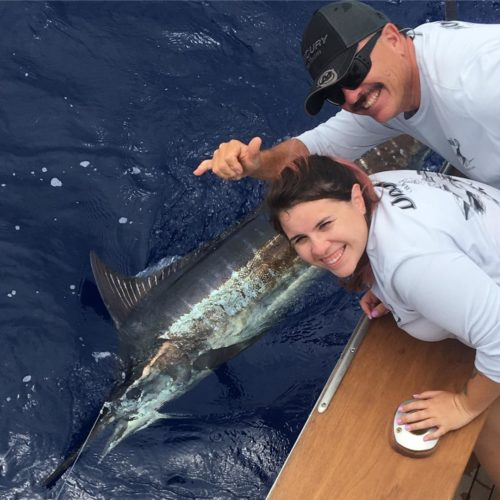 Melissa Gets her Spear - Fishing Report